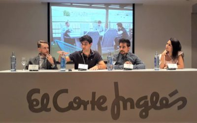 Más de 30 personas asisten a la charla de Nodriza en El Corte Inglés